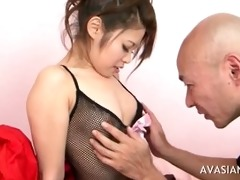 mature chap seduces youthful oriental schoolgirl