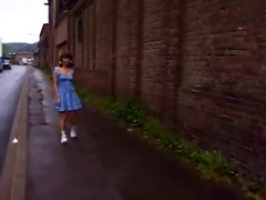 german schoolgirl outdoor by troc
