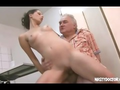 penetrated by old doctors cock