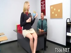 youthful chick receives nailed