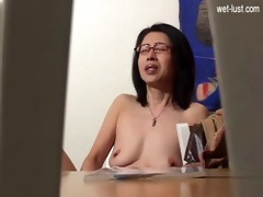 hawt daughter brutal orgasm