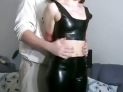 sexy redhead whipped like the family pig