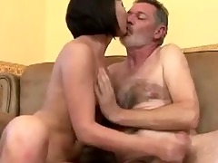 old man fuck this youthful babe