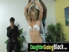 my daughter is drilled hard by my darksome friend