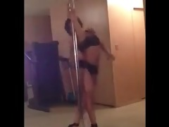 step sister pole dancing