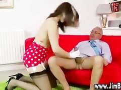 dark brown juvenile girl oral stimulation