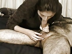 whore engulfing large overweight cock