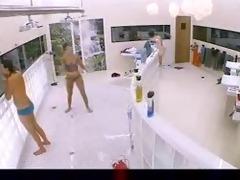 krystal-big brother in shower