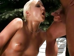 grandpapa and hawt girl pissing and fucking