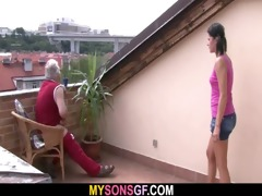 concupiscent daddy bangs his son&#2211 s gf