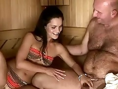 sandra rodriguez receives drilled by older man
