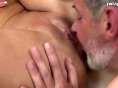 undressed setp-daughter oral sex