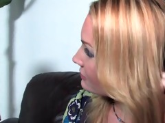 flower tucci copulates and squirt in front of her