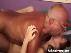 lustful old grand-dad acquires favourable
