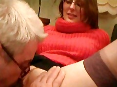 old guy having sex with his youthful nurse