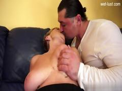 excited daughter cum filled