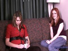 olivia redd - hawt fresh redhead receives