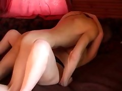 bulky russian redhead with younger paramour