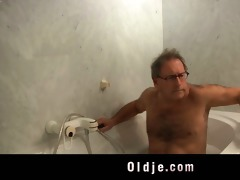 horny youthful maid bonks an old hotel customer