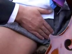 old teacher fuck youthful schoolgirl in uniform