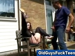 old lad fellatio by hawt younger sweetheart