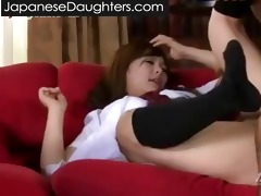 obscene daddy and japanese daughter...