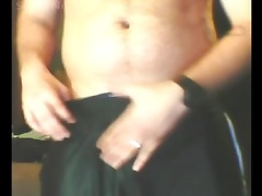str married father jerking off in basement with