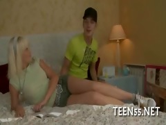 legal age teenager whore finds a large wang