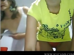 latino cuties play on web camera lusty exhi