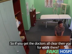 fakehospital student needs a full check up