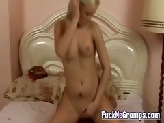 old pervert with blond angel